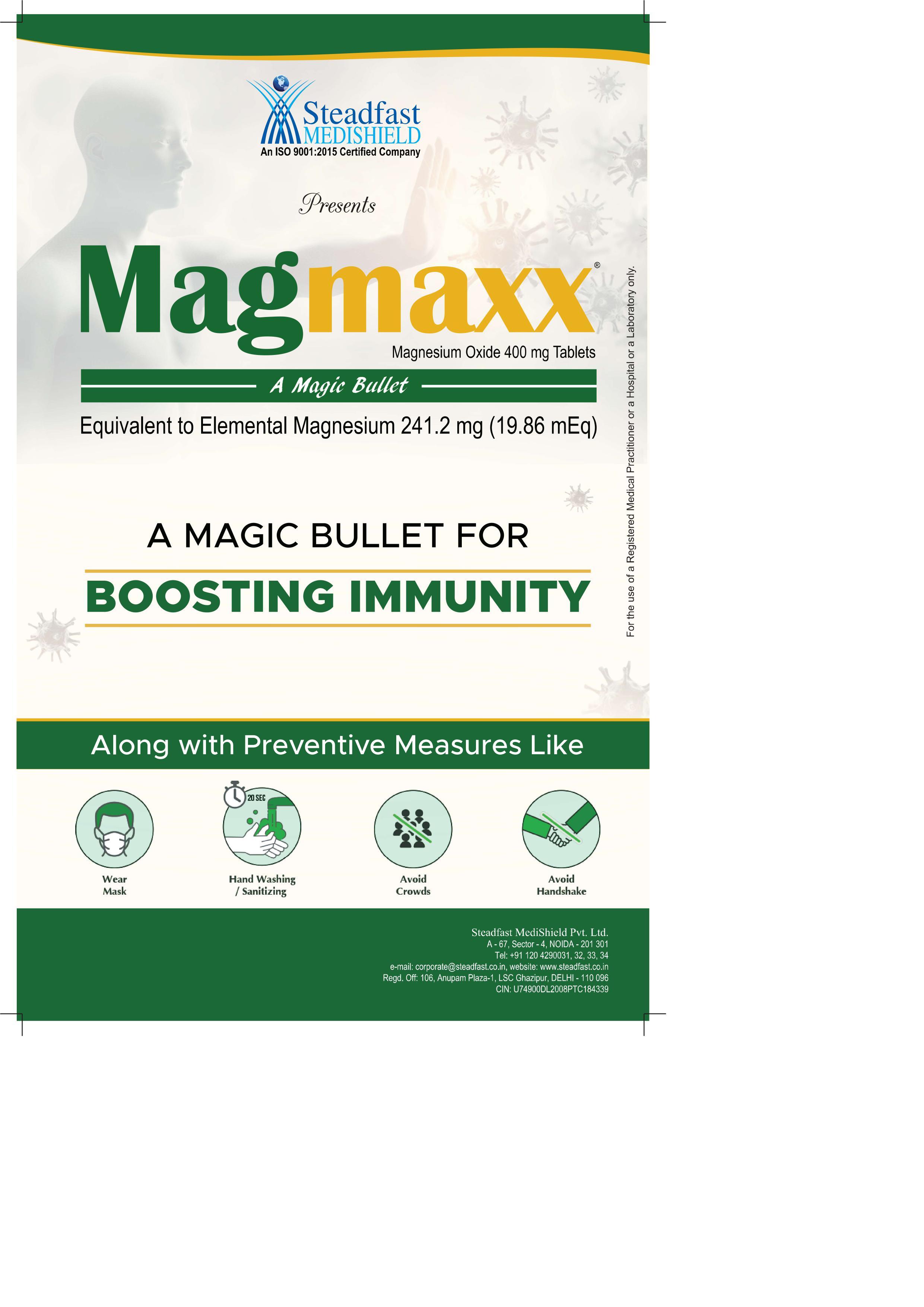 Magmaxx A Magic Bullet For Boosting Immunity