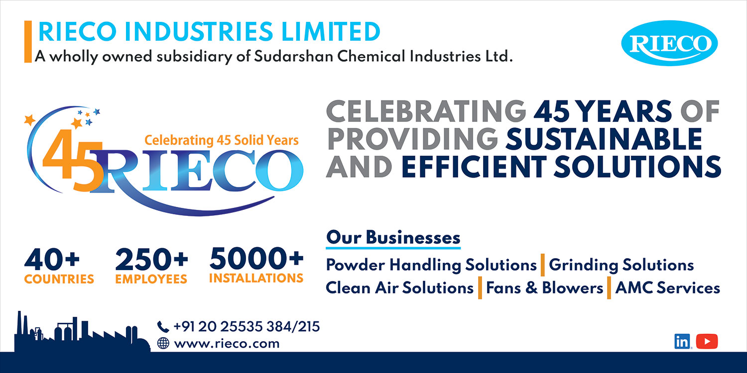 45 Rieco - Celebrating 45 Years Of Providing Sustainable And Efficient Solutions