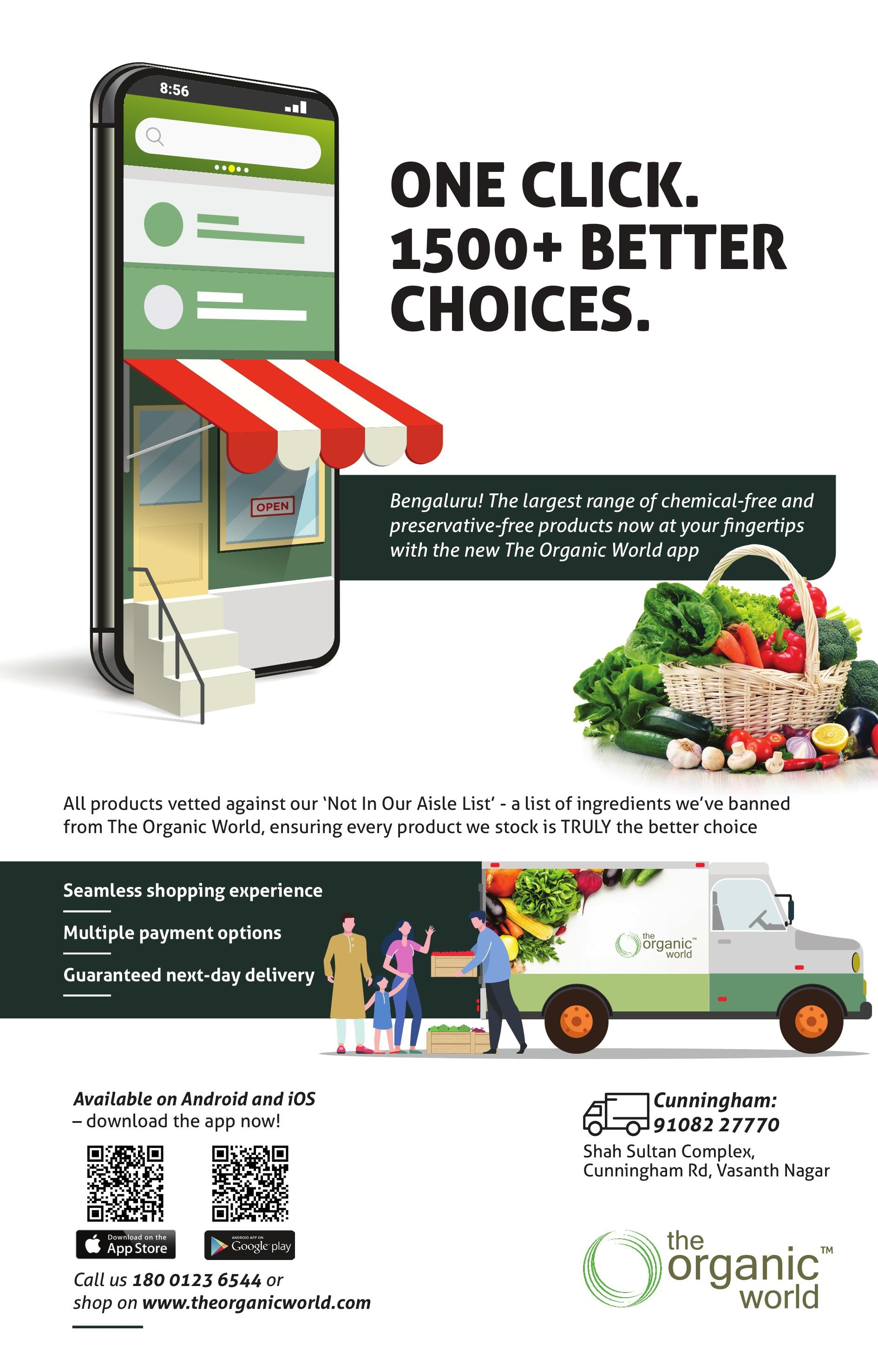 One Click 1500+ Better Choices