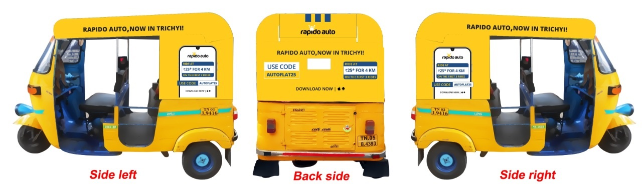 Rapido Auto Now In Trichy