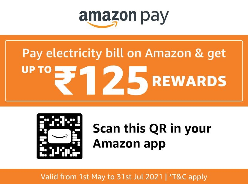 Pay Electricity Bill On Amazon & Get Upto Rs 125 Rewards | Amazon Pay
