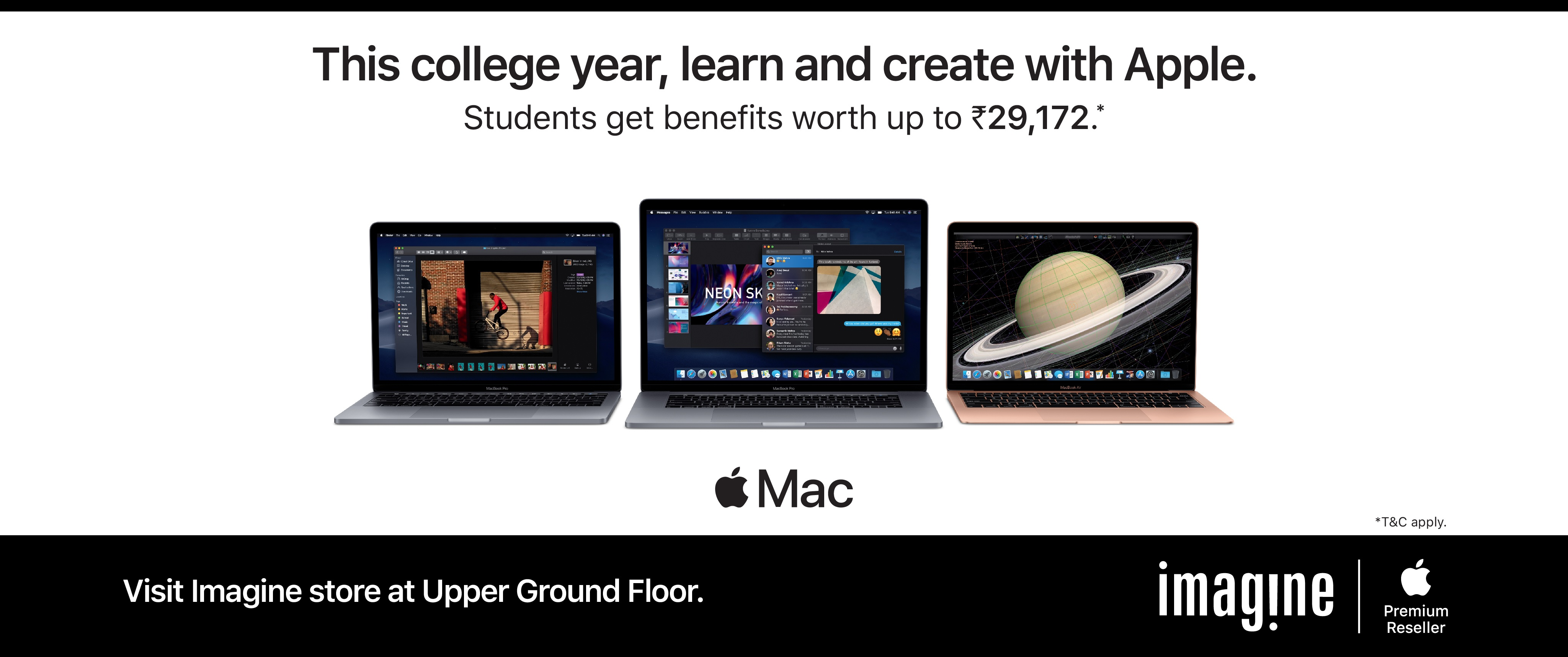 Apple | This College Year,Learn And Create With Apple