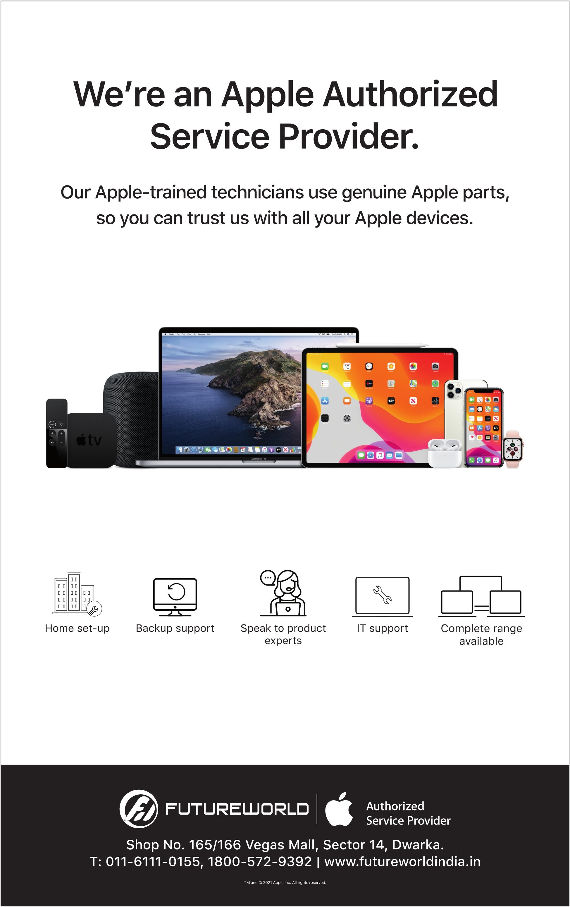 Apple | We're An Apple  Authorized Service Provider.