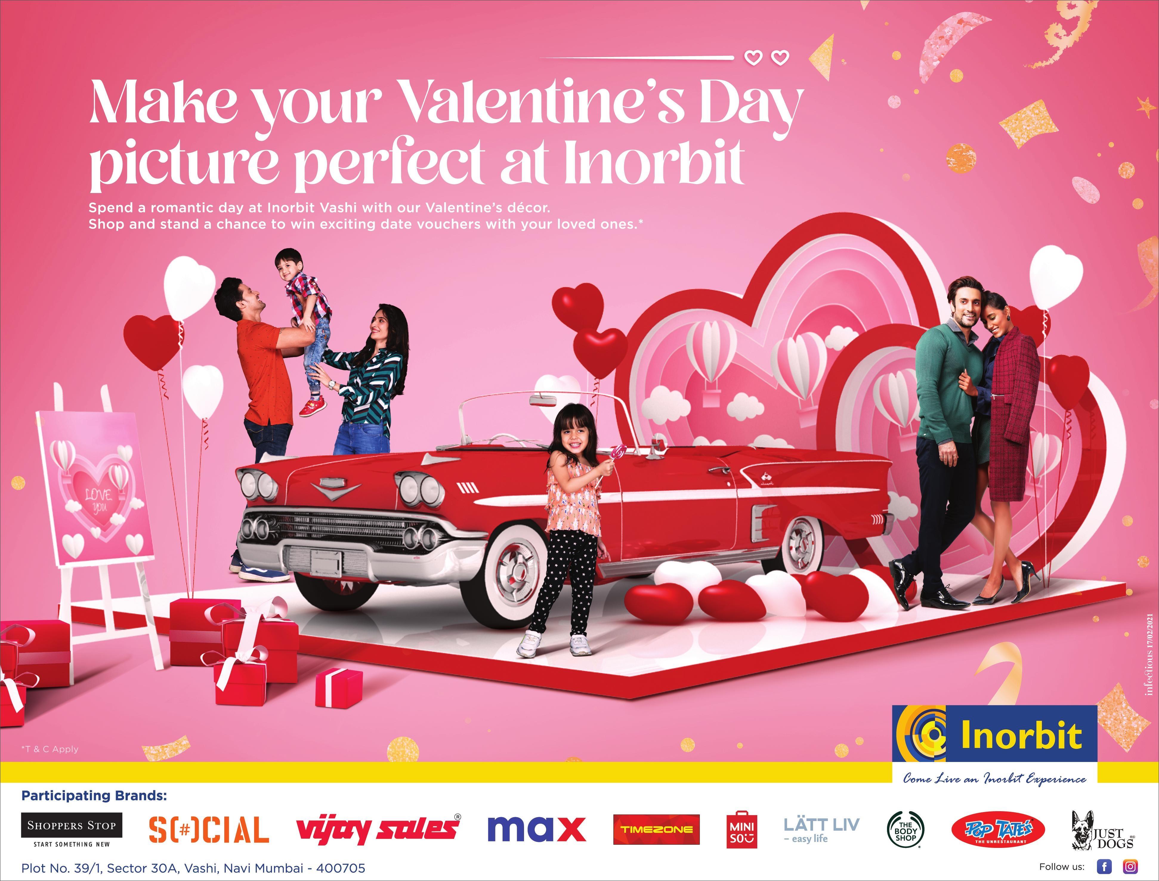Inorbit Mall | Make Your Valentine'S Day Picture Perfect At Inorbit