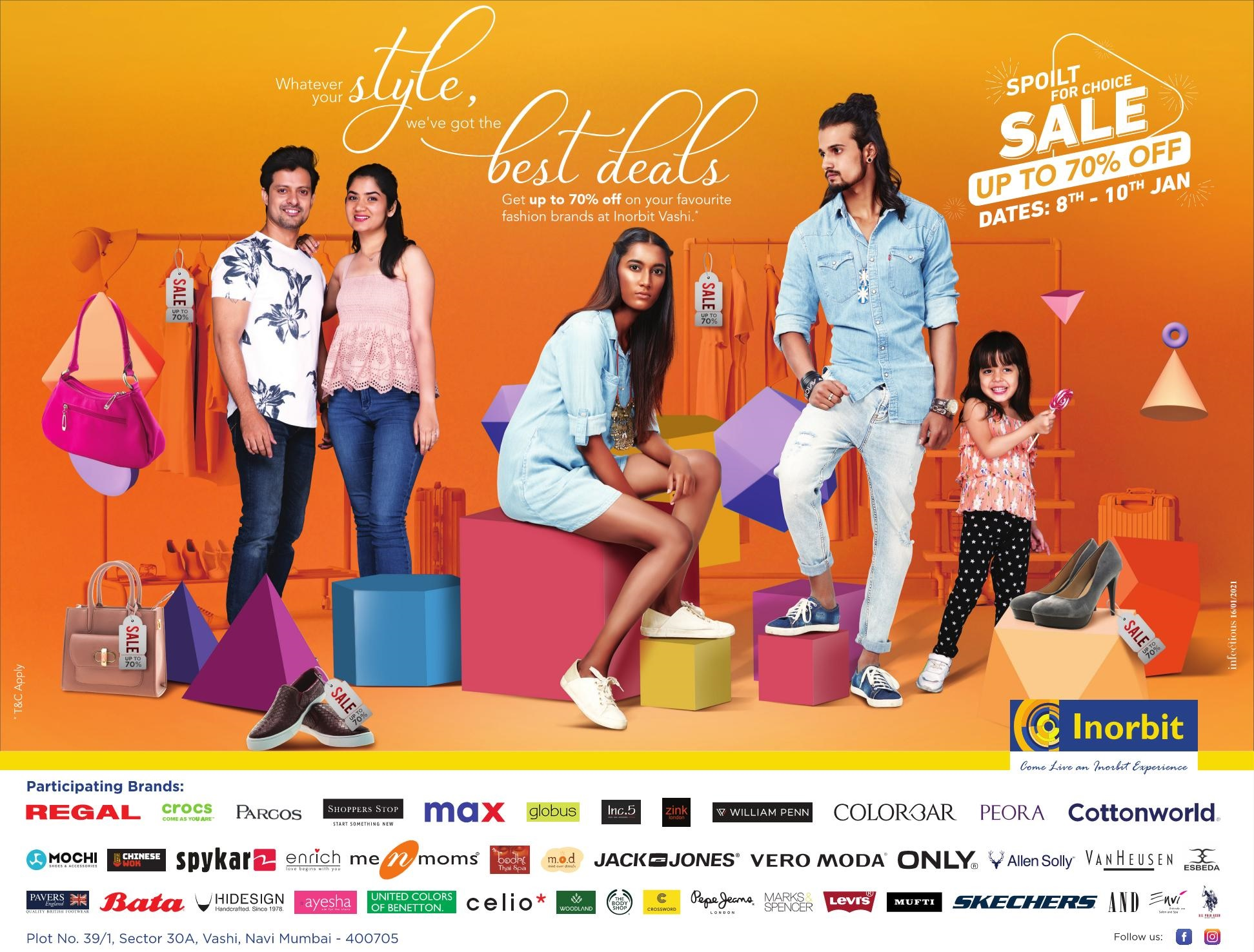 Inorbit Mall | Whatever Your Style,We'Ve Got The Best Deals