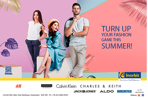 Inorbit Mall   Turn Up Your Fashion Game This Summer!