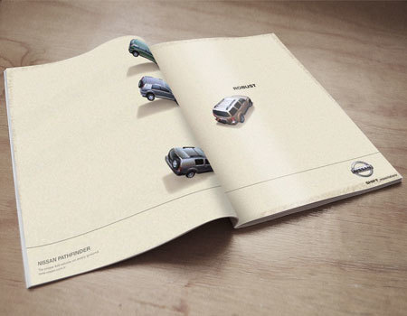 Travel and Leisure Magazine-Double Spread Advertising