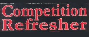 Advertising in Competition Refresher Magazine