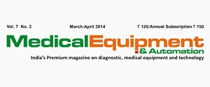 Advertising in Medical Equipment & Automation Magazine