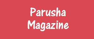 Advertising in Parusha Magazine