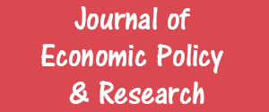Advertising in Journal of Economic Policy & Research Magazine