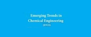 Advertising in Emerging Trends in Chemical Engineering Magazine