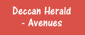Deccan Herald, Bangalore - Avenues - Avenues, Bangalore