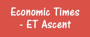 Economic Times, Kolkata - ET Ascent - ET Ascent, Kolkata