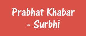 Prabhat Khabar, Ranchi - Surbhi - Surbhi, Ranchi