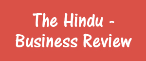 The Hindu, Bangalore - Business Review - Business Review, Bangalore