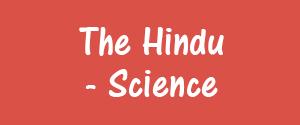 The Hindu, Bangalore - Science - Science, Bangalore