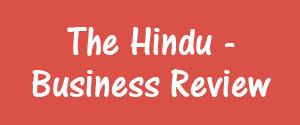 The Hindu, Delhi - Business Review - Business Review, Delhi
