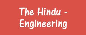 The Hindu, Delhi - Engineering - Engineering, Delhi
