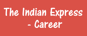 Advertising in The Indian Express, Career Chandigarh, English Newspaper