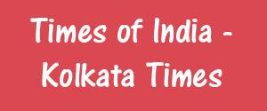 Times Of India, Kolkata - Kolkata Times - Kolkata Times, Kolkata