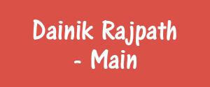 Advertising in Dainik Rajpath, Bharatpur - Main Newspaper