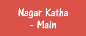 Advertising in Nagar Katha, Itarsi - Main Newspaper