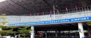 Advertising in Airport - Kolkata Airport
