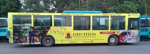 Advertising in AC Bus - Bangalore
