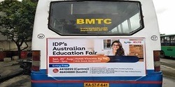 Advertising in Non AC Bus - Bangalore