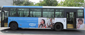 Advertising in Non AC Bus - Pune