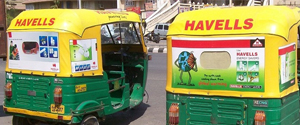 Advertising in Auto - Delhi