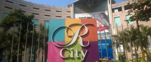 Advertising in Mall - R City Mall, Mumbai