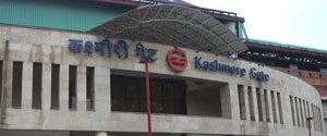 Advertising in Metro Station - Kashmere Gate, Delhi