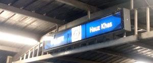 Advertising in Metro Station - Hauz Khas, Delhi