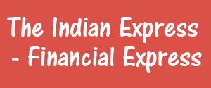 The Indian Express, Nagpur - Financial Express - Financial Express, Nagpur