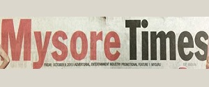 Advertising in Times Of India, Mysore Times, Mysore, English Newspaper
