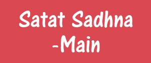 Advertising in Satat Sadhna, Dehradun - Main Newspaper