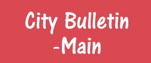 Advertising in City Bulletin, Meerut - Main Newspaper