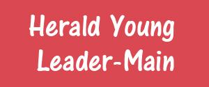 Advertising in Herald Young Leader, Main, Rajkot, Hindi Newspaper
