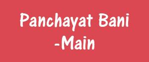 Advertising in Panchayat Bani, Punjab - Main Newspaper