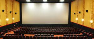 Advertising in Abhay Talkies Cinemas, Screen 1, India
