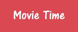 Advertising in Movie Time Cinemas, The Hub Mall's Screen 5, Mumbai