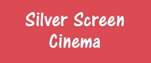 Advertising in Silver Screen Cinema, Rajnandgaon Cinemas, Screen 1, Rajnandgaon