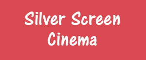 Advertising in Silver Screen Cinema, Rajnandgaon Cinemas, Screen 2, Rajnandgaon