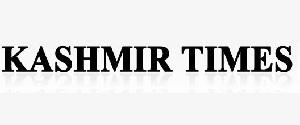 Advertising in Kashmir Times, Jammu - Main Newspaper