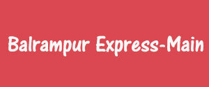 Advertising in Balrampur Express, Main, Urdu Newspaper