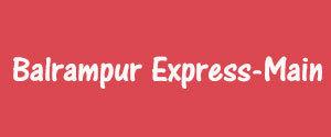 Advertising in Balrampur Express, Balrampur, Urdu Newspaper