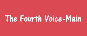 Advertising in The Fourth Voice, Vijayawada - Main Newspaper