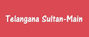 Advertising in Telangana Sultan, Main, Rangareddy, Telugu Newspaper